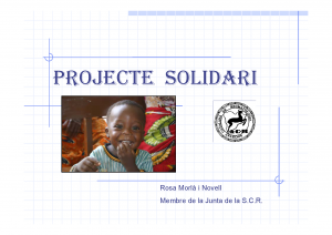 Portada Projecte Solidari de la Societat Catalana de Reumatologia_Febrer 2008-2
