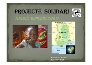 Portada Projecte Solidari de la Societat Catalana de Reumatologia_Novembre 2010