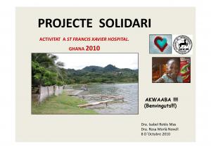 Portada Projecte Solidari de la Societat Catalana de Reumatologia_Octubre 2010